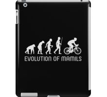 MAMIL Middle Aged Man In Lycra Evolution Shirt iPad Case/Skin