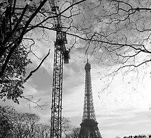 Eiffel crane by Dominique Meynier