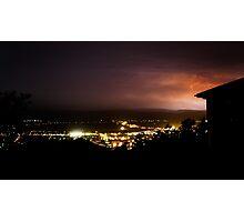 Launceston lightning Photographic Print