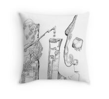 Secrets of the Engineers Throw Pillow
