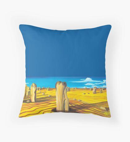 Pinnacles - W.A. Throw Pillow