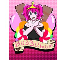 Bubblegum? Algebraic!  Photographic Print