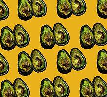 Avocado - Mustard by ruthkatherinee