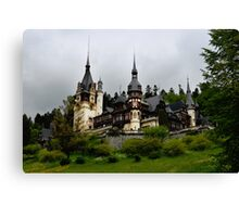 Peles Castle, Sinaia, Romania Canvas Print