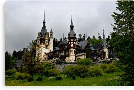 Peles Castle, Sinaia, Romania by Antanas