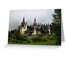 Peles Castle, Sinaia, Romania Greeting Card