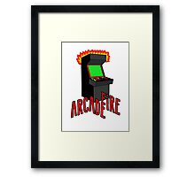 Arcade Fire-Literally Framed Print