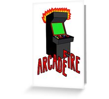 Arcade Fire-Literally Greeting Card