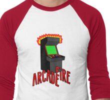 Arcade Fire-Literally Men's Baseball ¾ T-Shirt