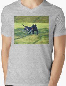 BFF's Mens V-Neck T-Shirt