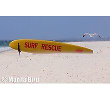 Surf Lifesavers surfboard - Cottesloe Beach, Perth, Western Australia (14-12-2006) Photographic Print