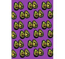 Avocado - Purple Photographic Print
