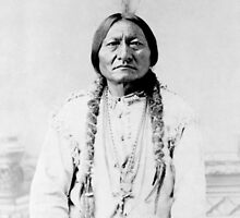 Sioux Chief Sitting Bull by warishellstore