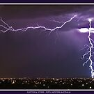 Electrical Storm - Perth, Western Australia by Marita Bird