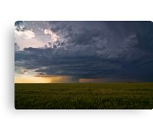 The Mothership at Sunset Canvas Print