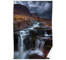 The Russell Burn , Applecross, Western Scotland. Poster