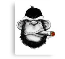 Cigar Monkey Canvas Print