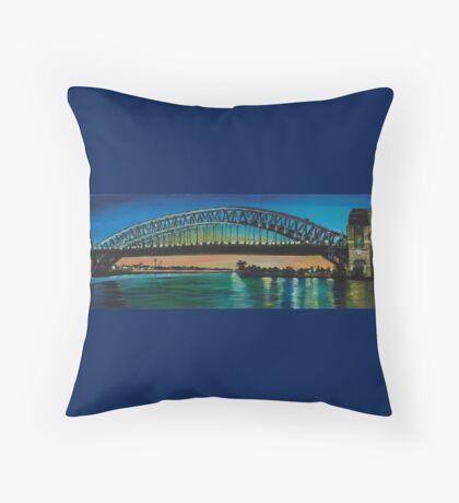 Sydney Harbour Highlights Throw Pillow