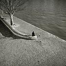 Solitude in Paris by Laurent Hunziker