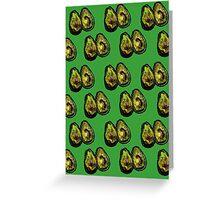 Avocado - Green Greeting Card