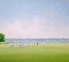 'Saturday Arvo Cricket match' by TigerL