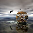 The Birdcage by Sandra Bauser Digital Art