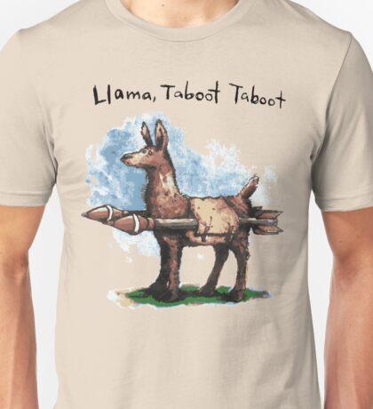 Llama, Taboot Taboot Unisex T-Shirt