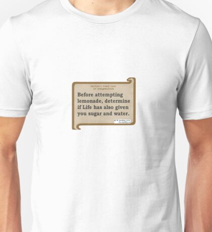 1st pragmatic law Unisex T-Shirt