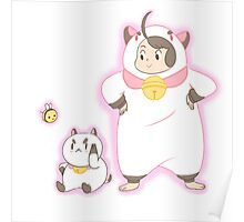Bee and puppycat! Poster