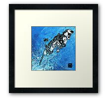 """Ode to Bill Watterson - """"Somebody Needs a Hug!"""" Framed Print"""