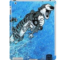 "Ode to Bill Watterson - ""Somebody Needs a Hug!"" iPad Case/Skin"