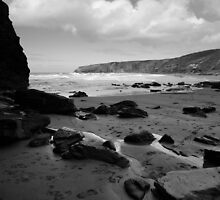 Trebarwith Strand by Andy Stafford