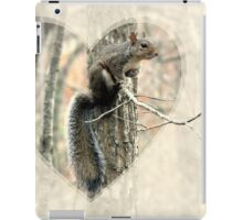 My Little Squirrelly Heart iPad Case/Skin