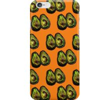 Avocado - Orange iPhone Case/Skin