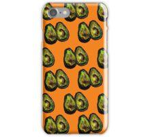 Avocado - Orange iPhone Case/Skin