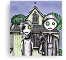 American Zombie Canvas Print