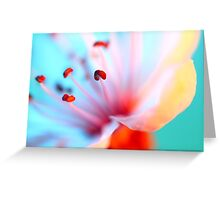 Blossom In Blue Greeting Card