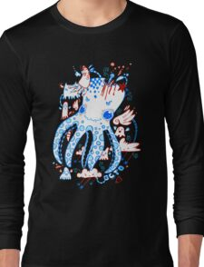Octopussy and Copy Squid  Long Sleeve T-Shirt