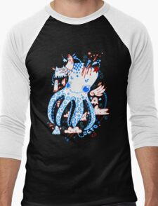 Octopussy and Copy Squid  Men's Baseball ¾ T-Shirt