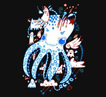 Octopussy and Copy Squid  Womens Fitted T-Shirt