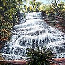Katoomba Falls, Blue Mountains Australia by Linda Callaghan