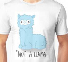*NOT A LLAMA (Blue) Unisex T-Shirt