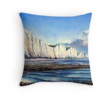 Sisters at low water Throw Pillow