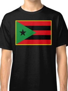 Afro Puerto Rican Flag Classic T-Shirt
