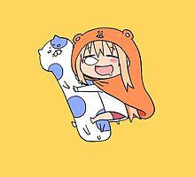 Himouto! Umaru-chan – Pillow by gentlemenwalrus