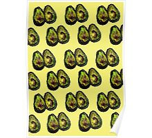 Avocado - Yellow Poster