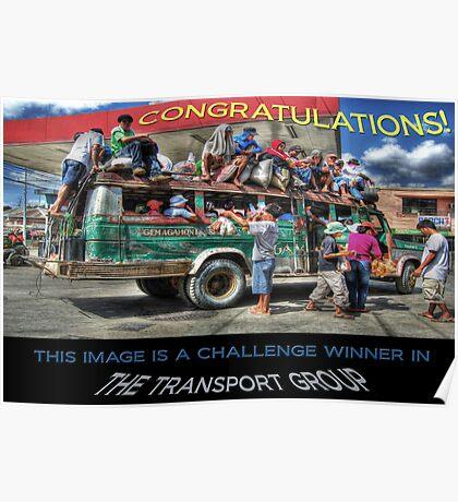 Banner Entry: Transport Group Challenge Winner Poster