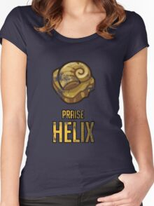 PRAISE HELIX Women's Fitted Scoop T-Shirt