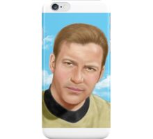 William Shatner as James T. Kirk iPhone Case/Skin