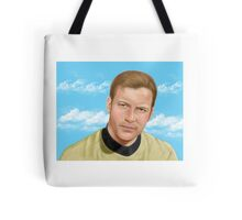 William Shatner as James T. Kirk Tote Bag
